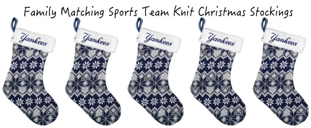 Best Family Matching Sports Team Stocking Stuffers   Holiday Gift ...