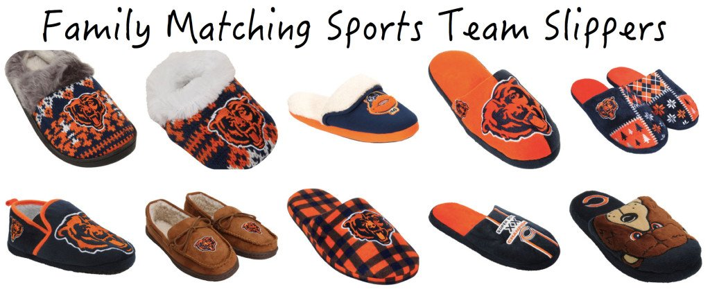 Family Matching Sports Team Slippers