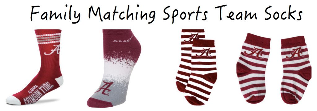 Family Matching Sports Team Socks
