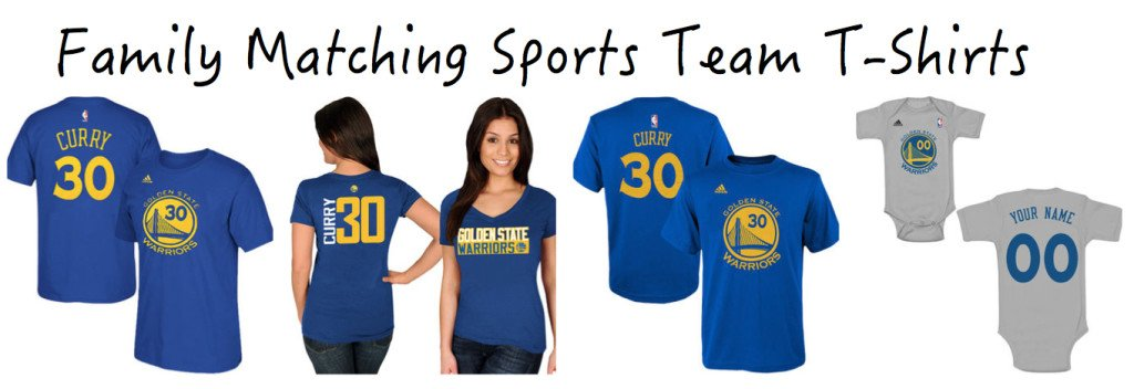 Family Matching Sports Team T-Shirts