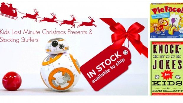 Kids Last Minute Christmas Presents and Stocking Stuffers