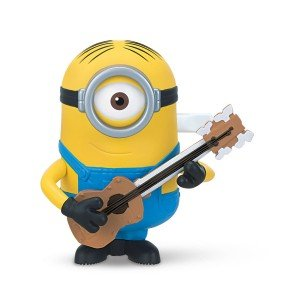 Minions Wind-Action Guitar Strumming Stuart