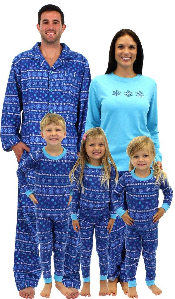 Frozen Winter Family Matching Pajamas