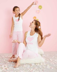 Personalized Mother Daughter Luv My Pink Pjs