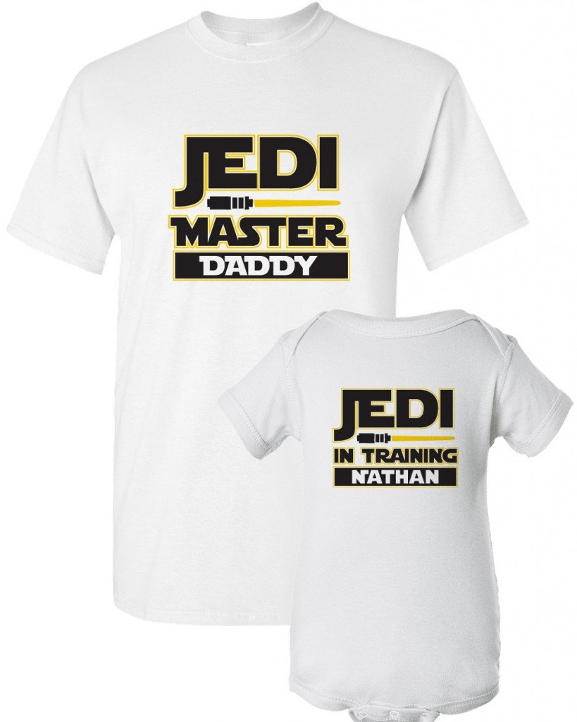 Star Wars Dad and Baby Shirt, matching Star Wars outfits