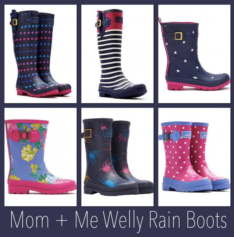 Mother Daughter Welly Rain Boots