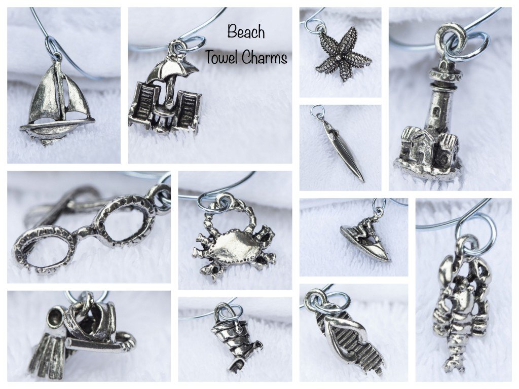 Beach Towel Charms