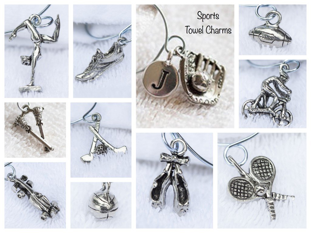 Sports Towel Charms