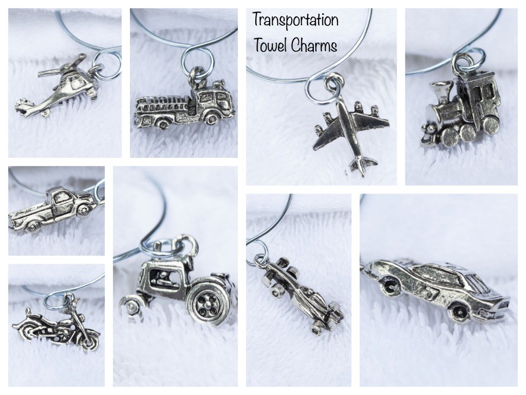 Transporation Towel Charms