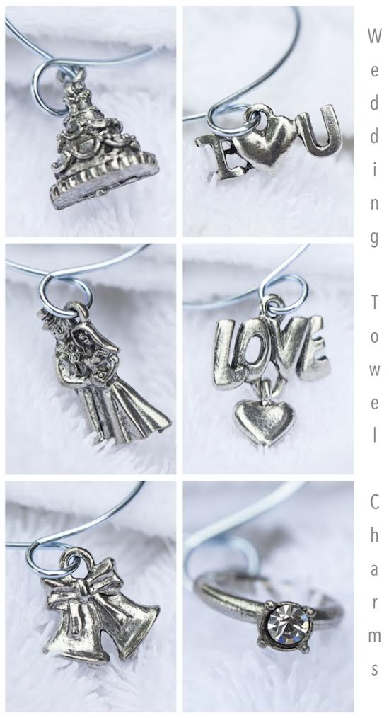 Wedding Towel Charms