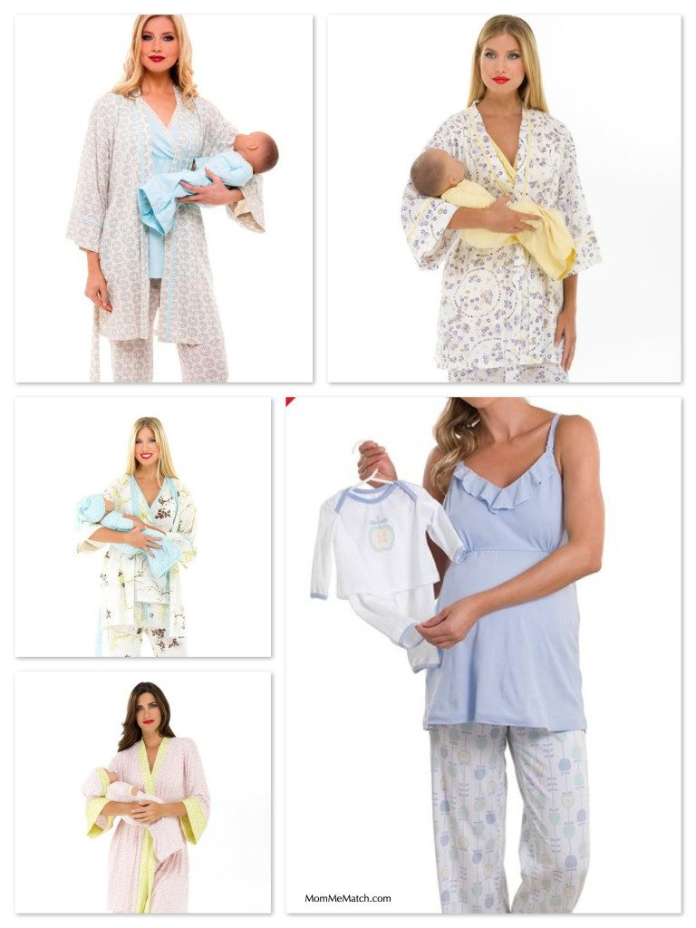 Matching Nursing Mom and Newborn Outfits