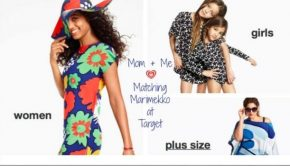 Mommy and Me Wear Matching Marimekko at Target