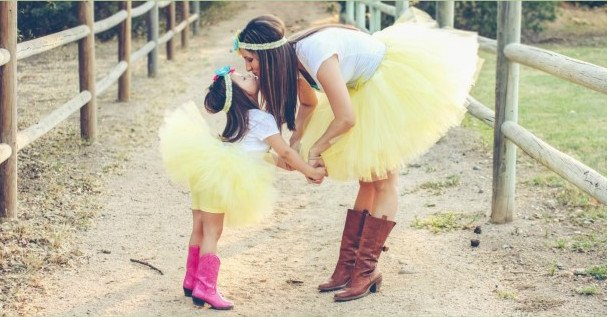 Mommy And Me Mother And Daughter Tutu Set