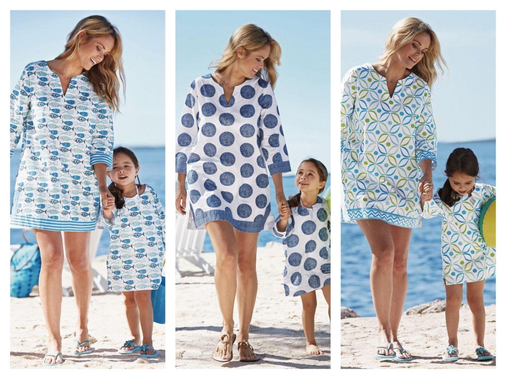 Mother Daughter Matching Summer Tunics