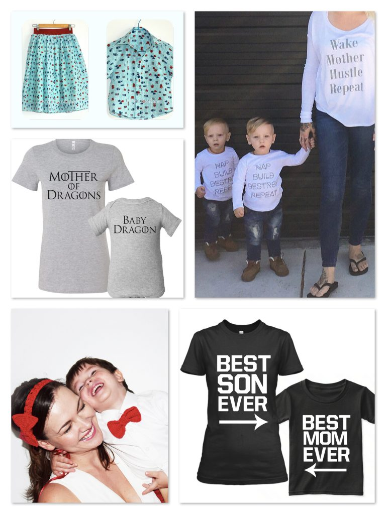 Mother Son Matching Outfits Mothers Day Gifts
