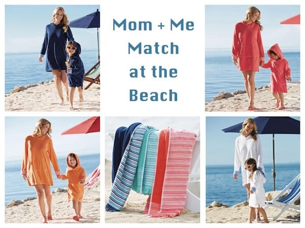 Mother Daughter Matching Beach Cover-Ups