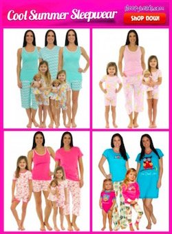 Family Matching Spring Summer Pajama's From Sleeypheads.com