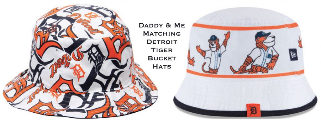 Daddy & Me Matching Detroit Tiger Bucket Hats, , Sports fan gear