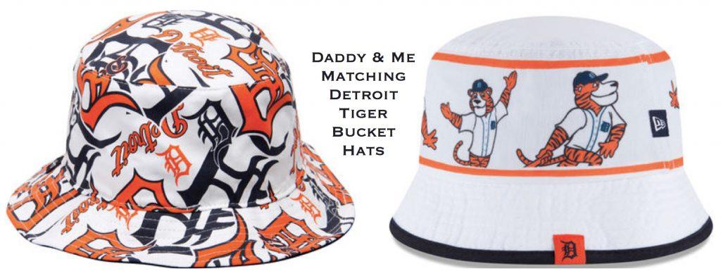 Daddy & Me Matching Detroit Tiger Bucket Hats, , Sports fan gear