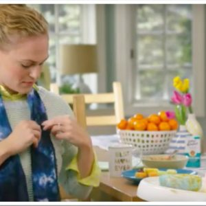 Mommy Scarves -The Remedy for Messy Mealtimes