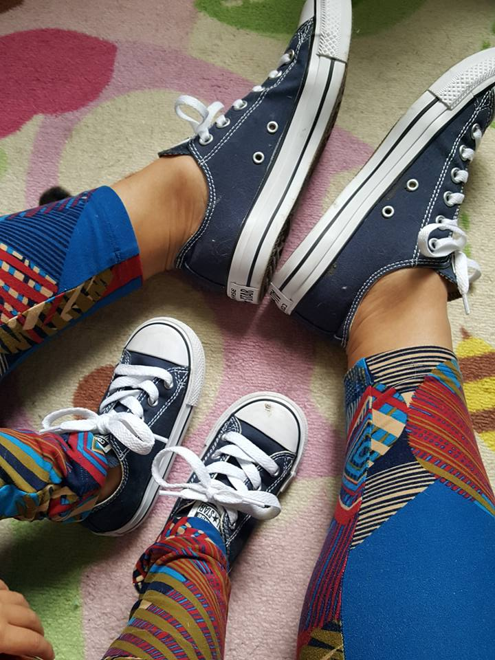 Mommy & Me Matching Converse Chuck Taylor All-Star Sneakers