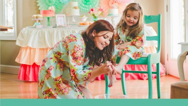 Mommy and Me Matching Kimono Robes