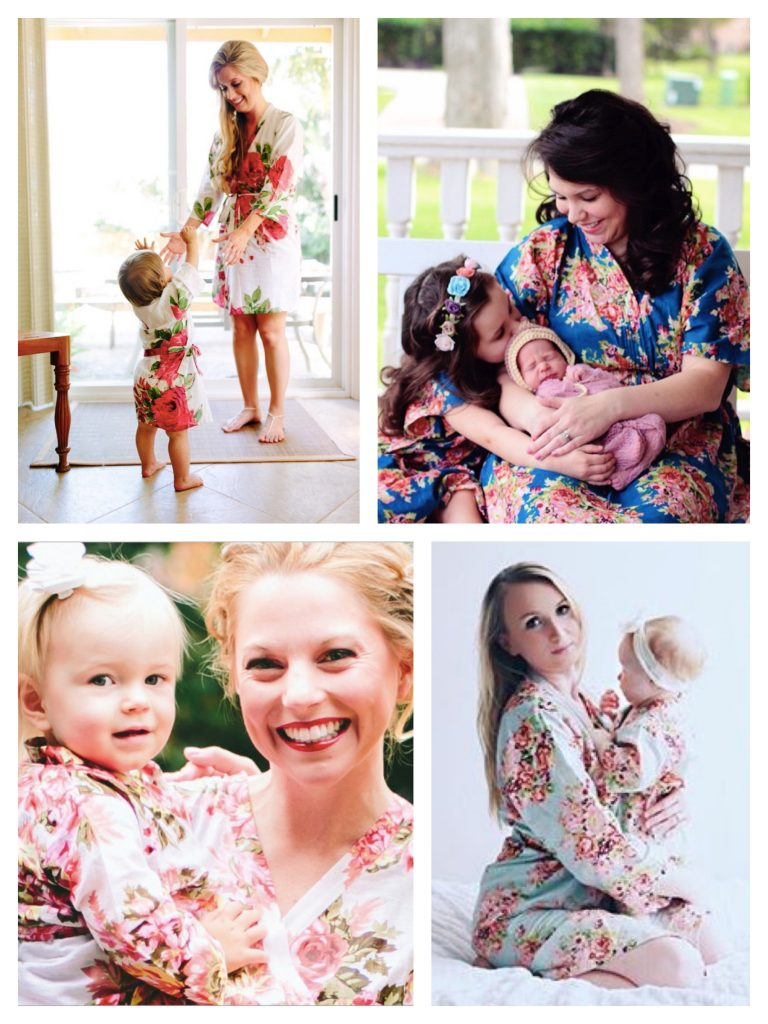 Mommy & Baby Matching Kimono Robes