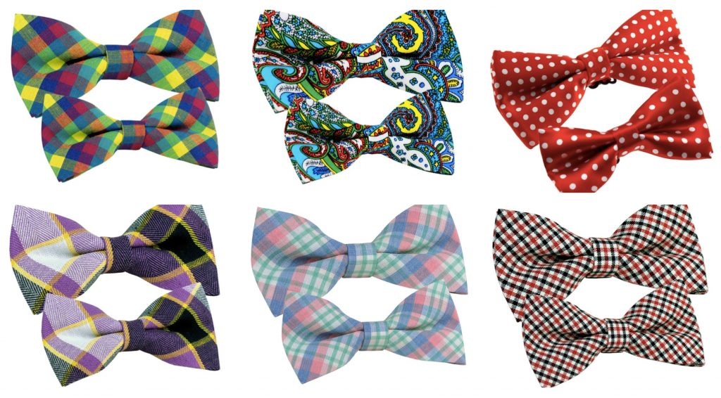 Father Son Matching Bow Ties Dad Gifts Mommematch Com
