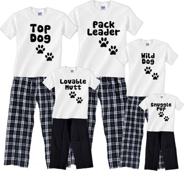Dog Pack Family Matching Pajamas