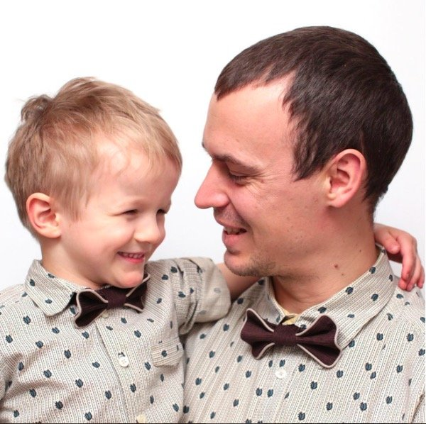 Father Son Matching Bow Ties