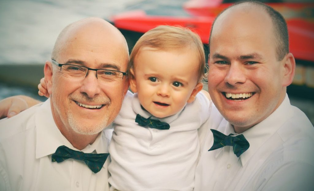Three Generations of Matching Father & Son Bow Ties