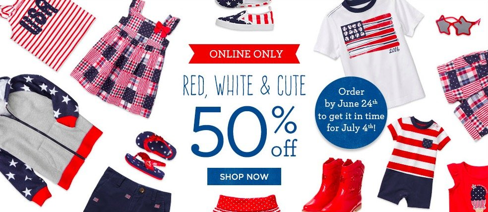 Gymboree Kids Red White Blue Sale