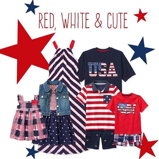 Mommy and Me Matching Fourth of July Red White and Cute OutfitsMommy and Me Matching Fourth of July Red White and Cute Outfits