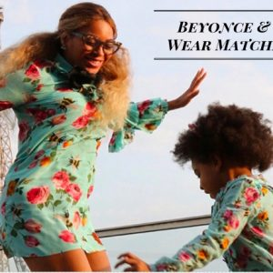 Beyonce & Blue Ivy Wear Matching Gucci Dresses