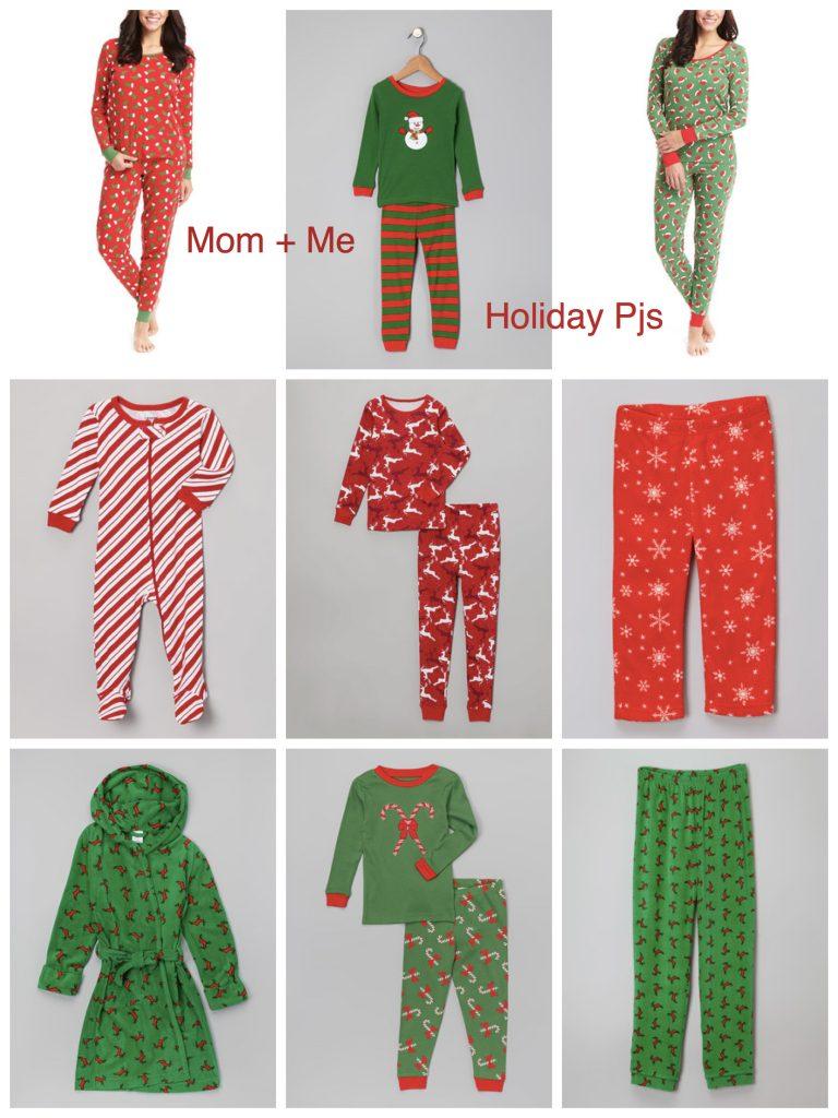 Mom & Me Matching Holiday Pajamas
