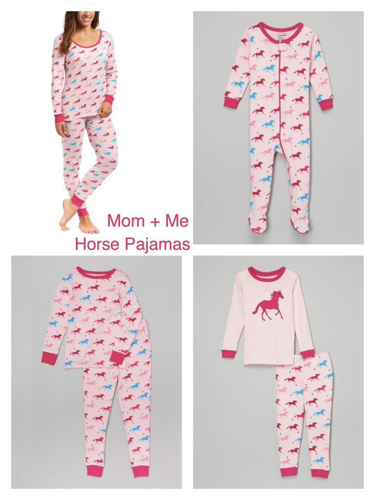 Mom + Me Matching Horse Pajamas