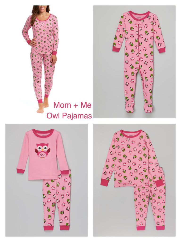 Mom + Me Matching Owl Pajamas