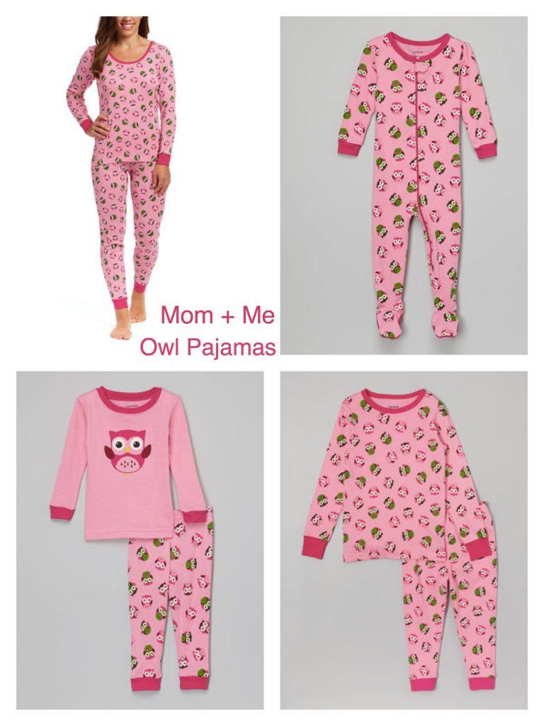 Mom + Me Matching Owl Pajamas