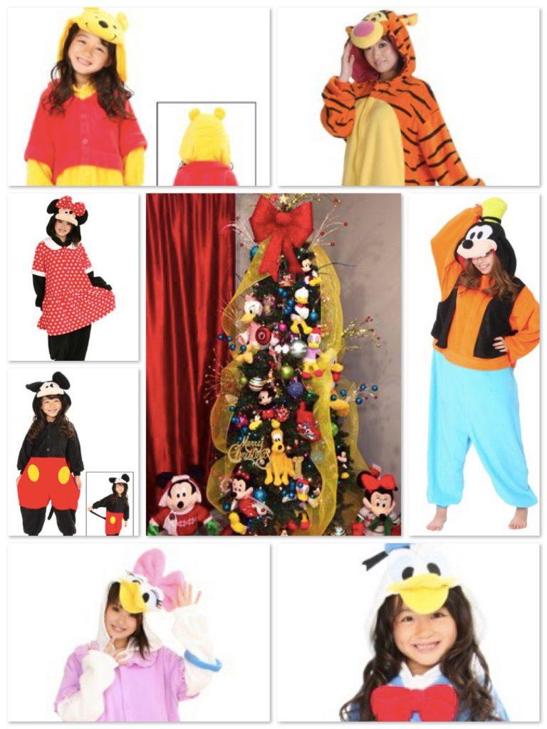 Family Matching Disney Christmas Pajamas