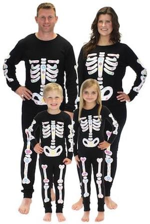 Family Matching Halloween Dia de los Muertos Pajamas