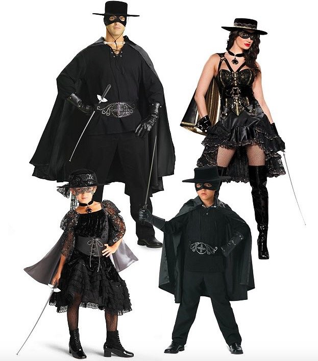Matching Family Bandido Costumes