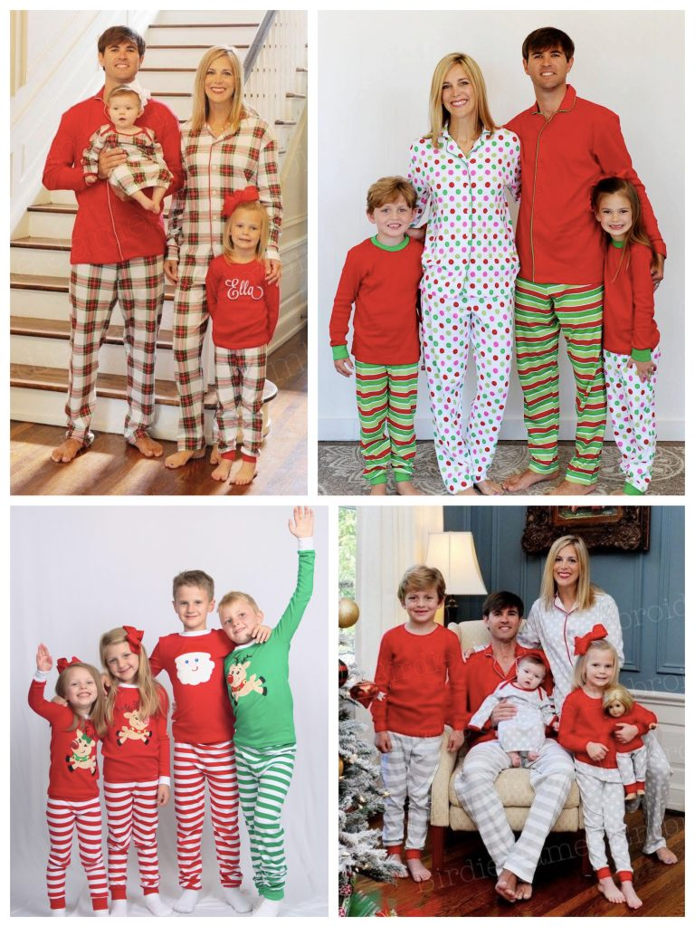 Matching Family Organic Holiday Pajamas