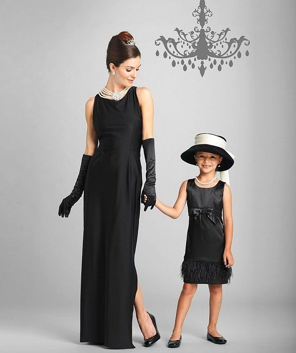 Mother Daughter Matching Breakfast At Tiffany's Costume