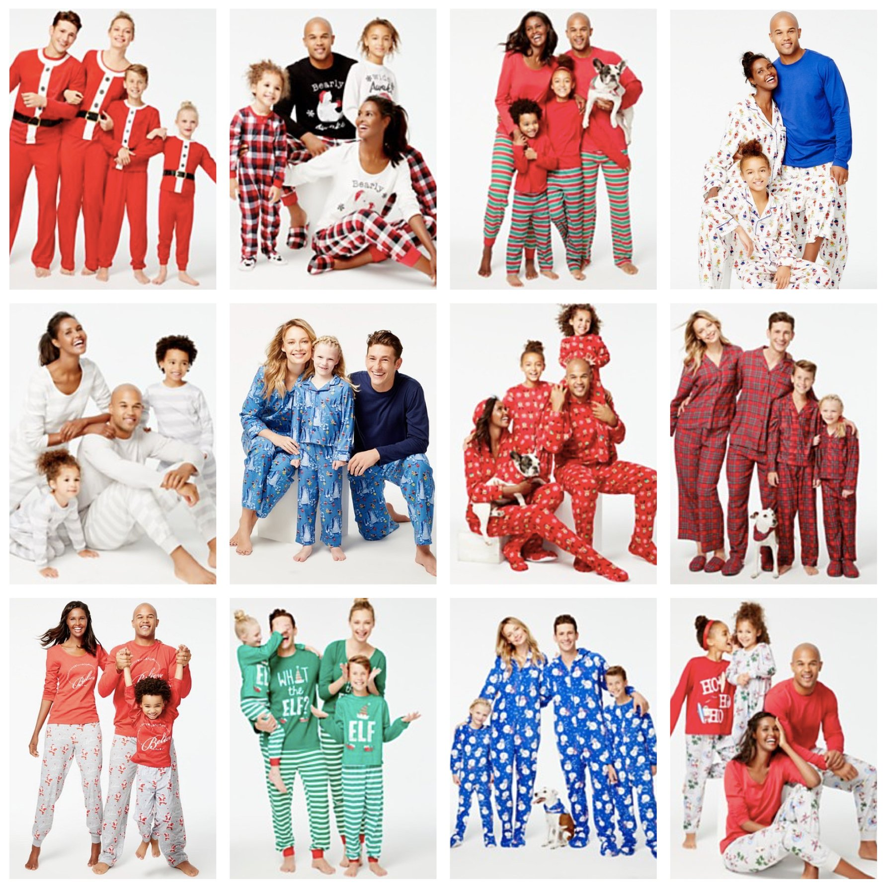 Exclusive Family Matching Pajamas