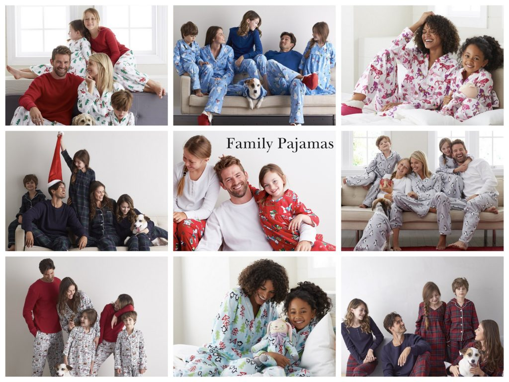 Matching Family Holiday Pajamas 2016
