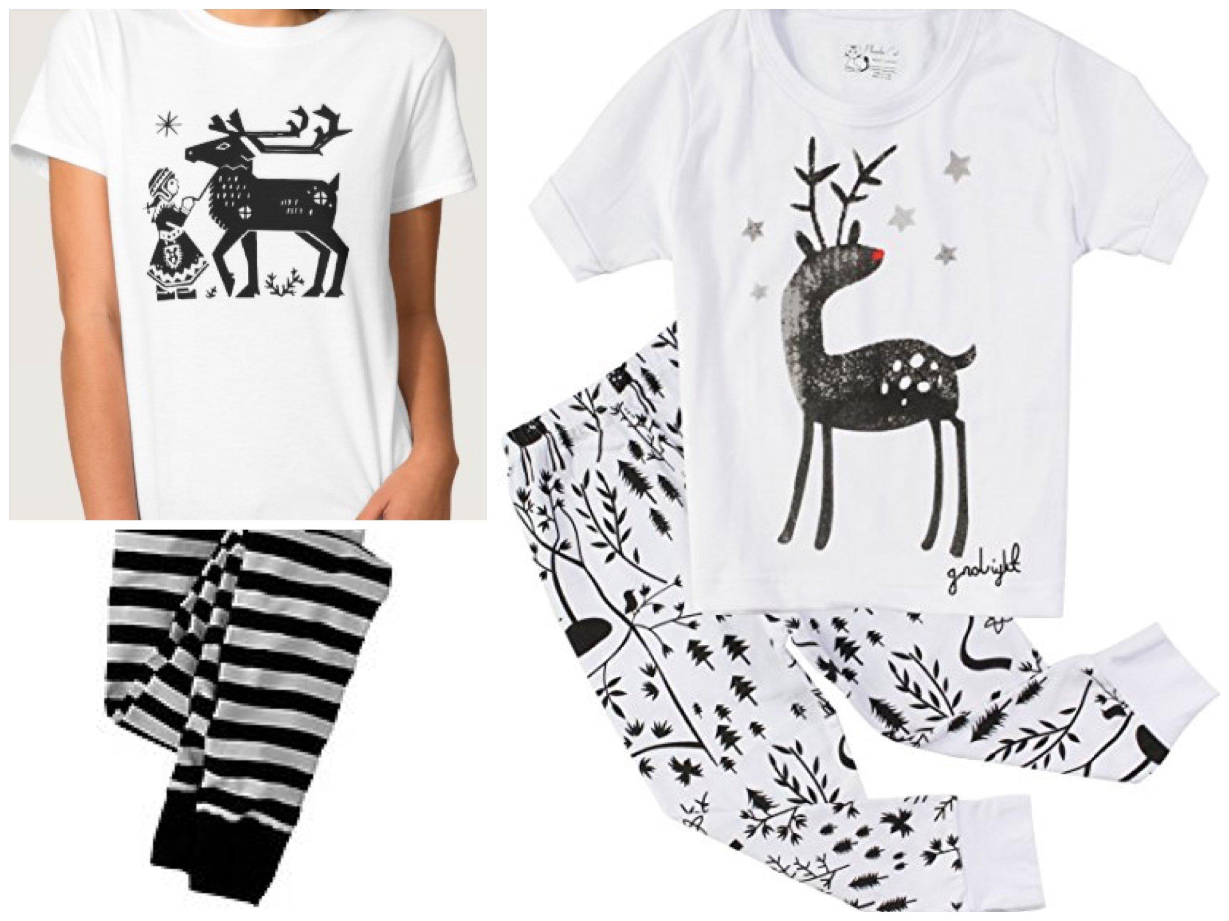 Reindeer Holiday Pajamas