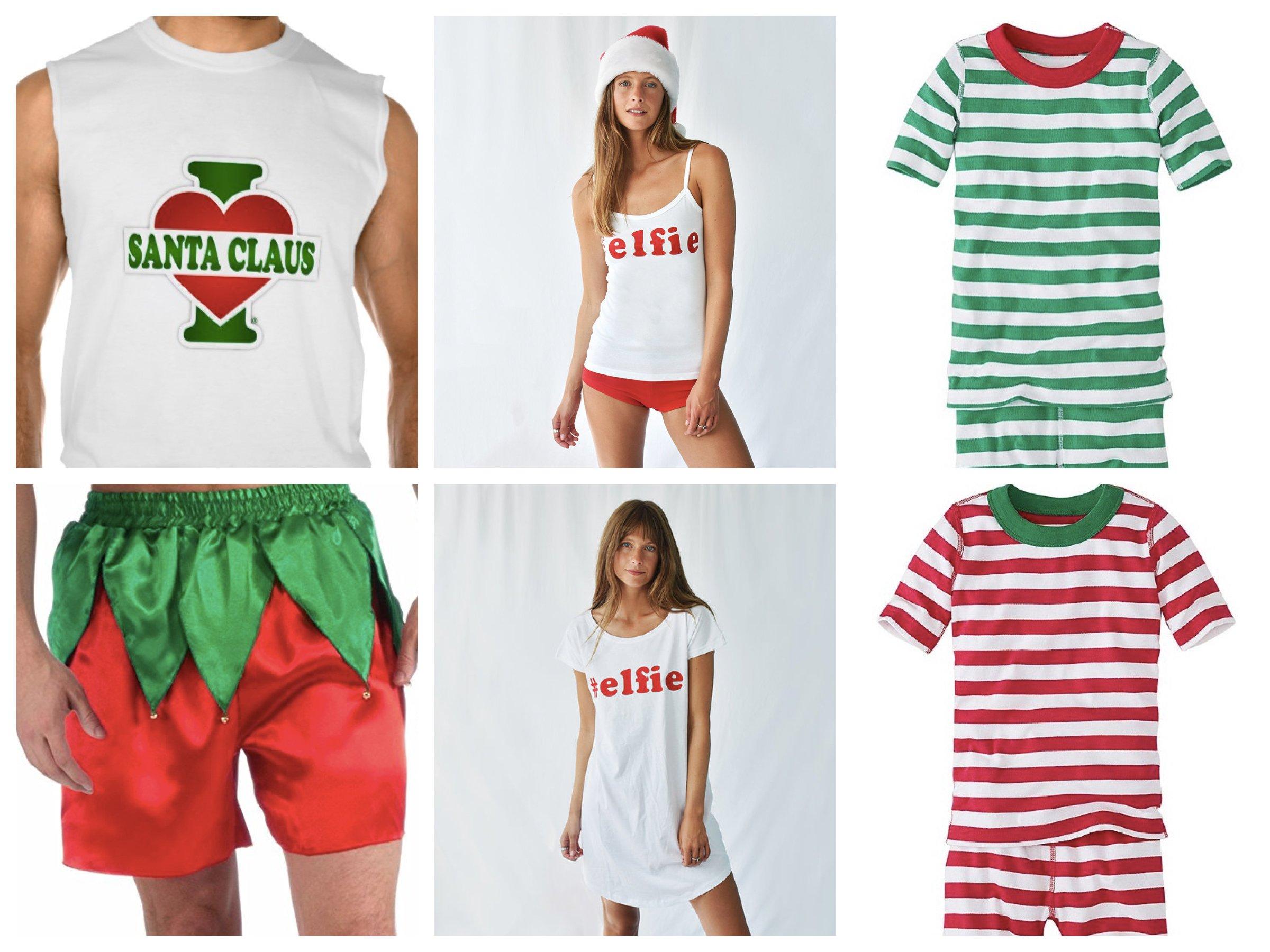 Family Holiday PJs, Summer Christmas Matching Family Pajamas