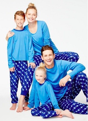 Family Matching Hanukkah Dreidel Pajamas