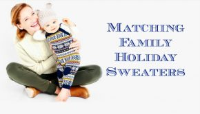 Matching Family Holiday Sweaters