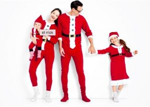 St Nick Organic Cotton Family Matching Holiday Pajamas